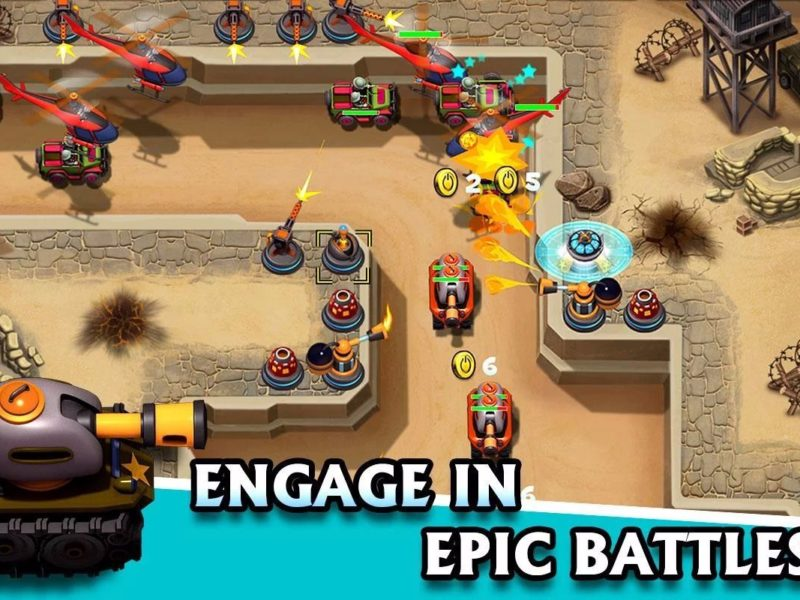 engage in epic battles